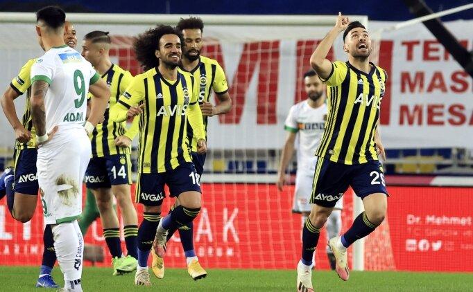 Fenerbahçe seriye bağladı! Zirvede Alanyaspor'u geçti!