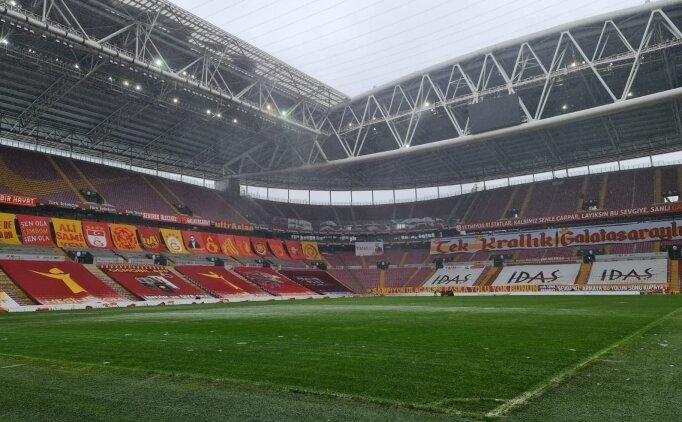 Türk Telekom Stadı'nda son durum