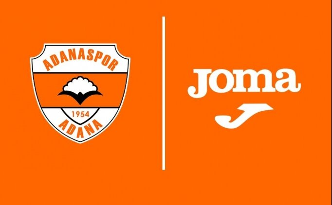 Adanaspor'un yeni forma sponsoru 'Joma' oldu