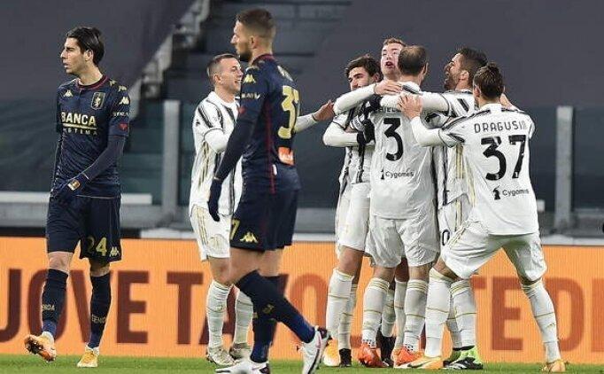Juventus uzatmada tur biletini aldı