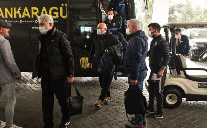 MKE Ankaragücü, Antalya'da kampa girdi