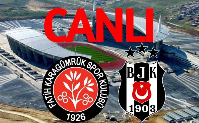 Beşiktaş Karagümrük link bein sports, BJK Karagümrük izle