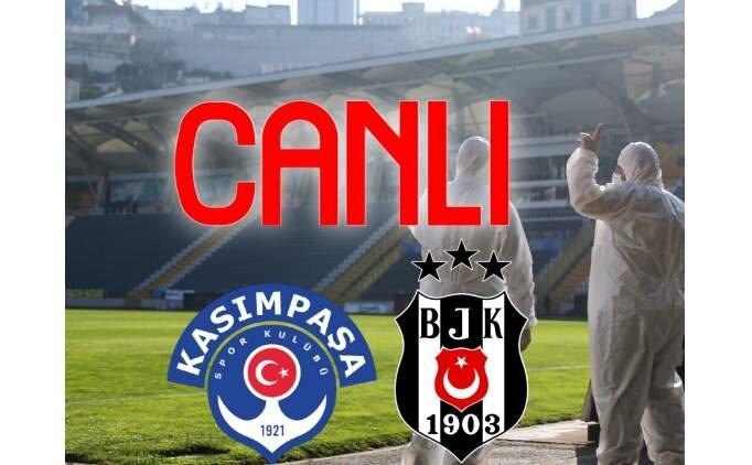 Kasımpaşa Beşiktaş maçı canlı izle (beİN Sports izle)
