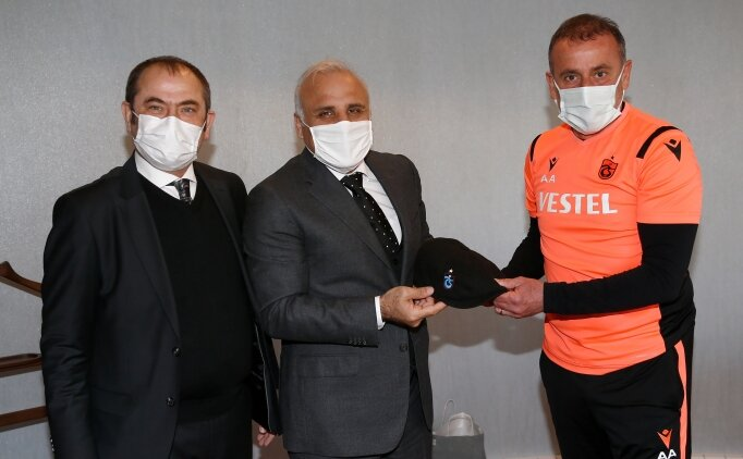 Murat Zorluoğlu'ndan Abdullah Avcı'ya ziyaret