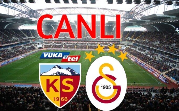 CANLI YAYIN : Kayserispor Galatasaray izle