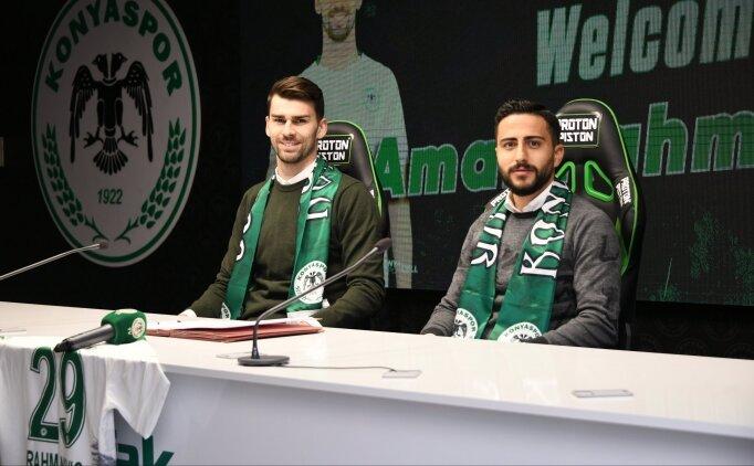 Konyaspor, Rahmanovic'i transfer etti