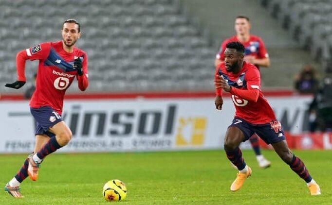 90'dan sonra 2 gol Lille'i zirvede tuttu