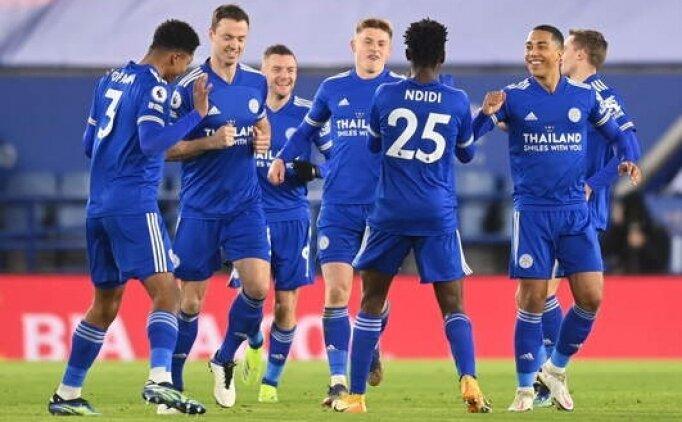 Leicester City Chelsea'yi devirdi maç fazlasıyla lider oldu