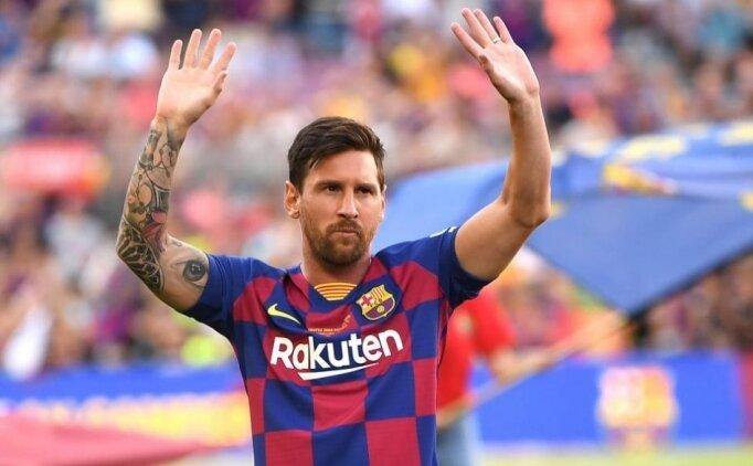 PSG'den Lionel Messi için açıklama