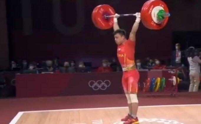İki olimpiyat rekoru kırdı: Chen Lijun