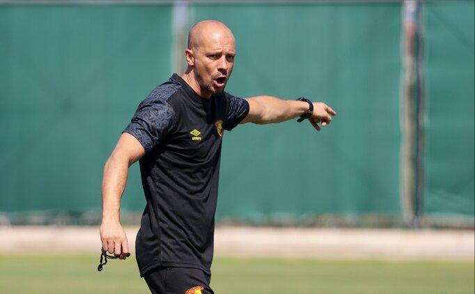 Göztepe'de Başakşehir maçına bambaşka kadro