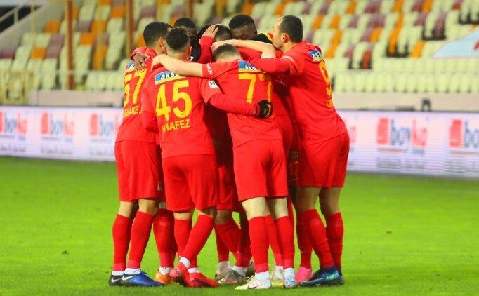 Yeni Malatyaspor, 5 haftalık kötü gidişata 'dur' dedi
