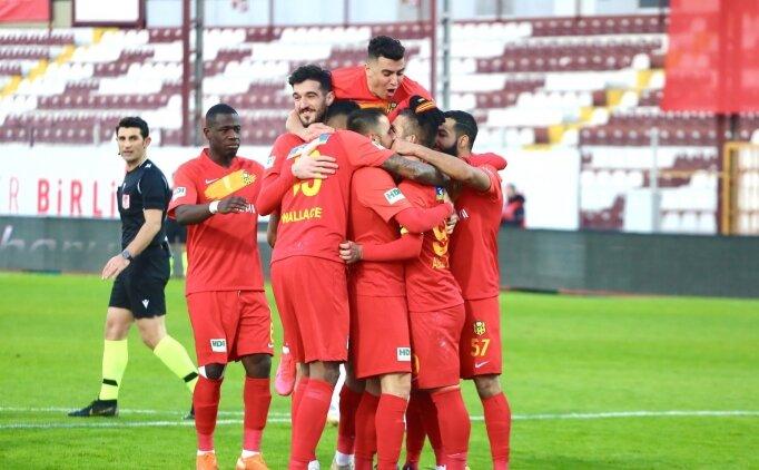 Malatyaspor, sahasında Galatasaray'a geçit vermiyor