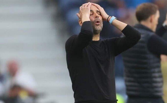 Guardiola: '2. yarıda hak ettik ama olmadı'
