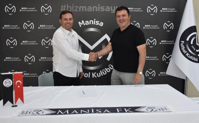 Manisa FK'nın sportif direktörü Serkan İşyapan oldu