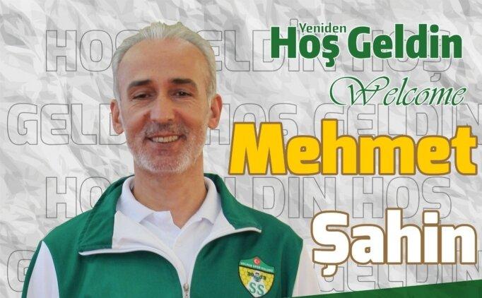 Solhanspor'da başantrenör Mehmet Şahin'e yeni sözleşme