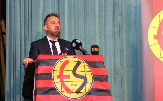 Eskişehirspor'da yeni başkan hedefleri açıkladı