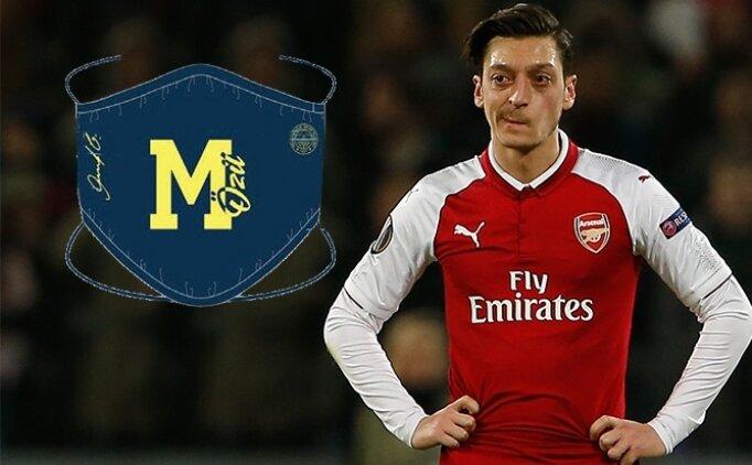 Mesut Özil: Maskeli gala!