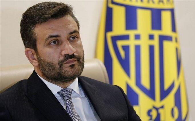 Ankaragücü'nde Fatih Mert, genel kurulda aday olmayacak