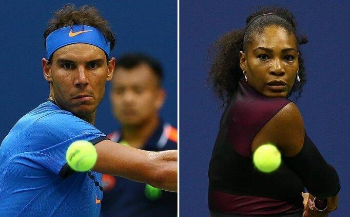 Rafael Nadal ve Serena Williams'tan Avustralya Açık'taki sıkı denetime destek
