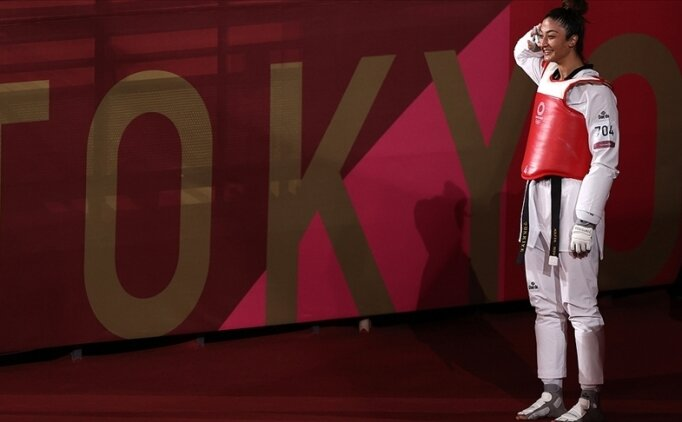 Milli tekvandocu Nafia Kuş'un olimpiyat üzüntüsü