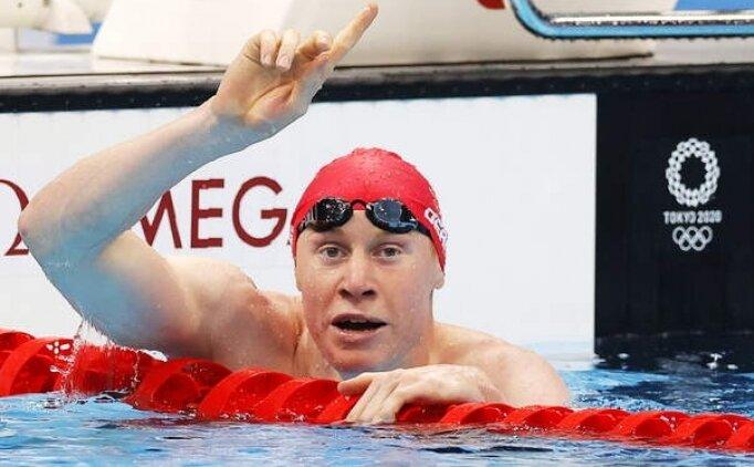 200 metre serbest yüzmede zafer Britanya'nın