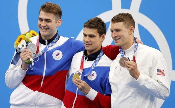 Evgeny Rylov olimpiyat rekoru ile madalyayı kaptı