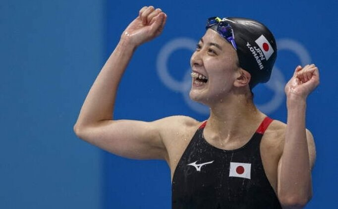 200 metre karışıkta altın madalya Yui Ohashi'nin
