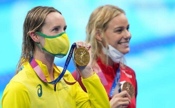 Emma McKeon 4. altınını da kimselere bırakmadı
