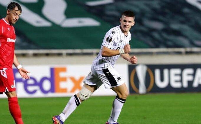 PAOK'tan Fenerbahçe'ye ikinci transfer; Christos Tzolis