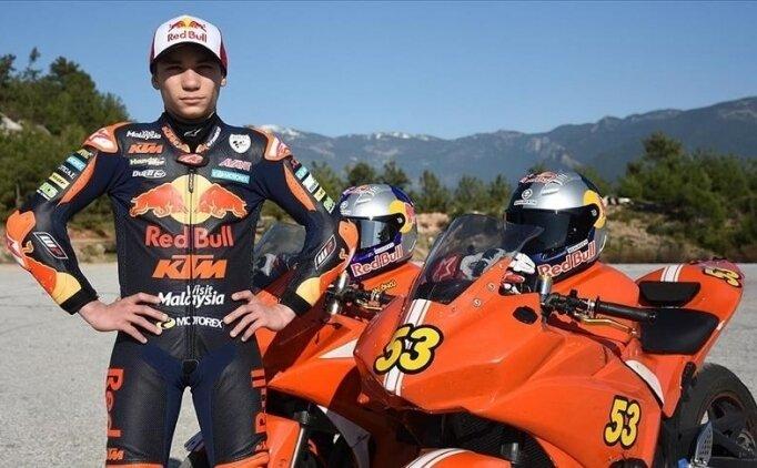 Milli motosikletçi Deniz Öncü, İspanya Grand Prix'sine 10. cepten başlayacak