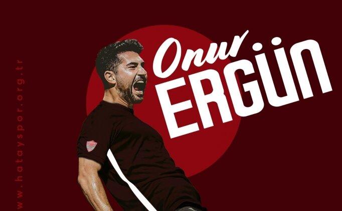 Hatayspor, Onur Ergün'ü transfer etti