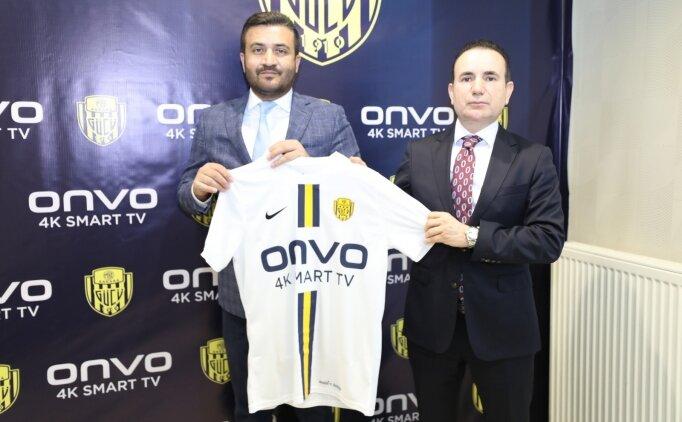 Ankaragücü ile ONVO arasında sponsorluk anlaşması