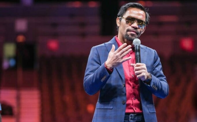 Ünlü boksör Manny Pacquiao devlet başkanlığına aday oldu