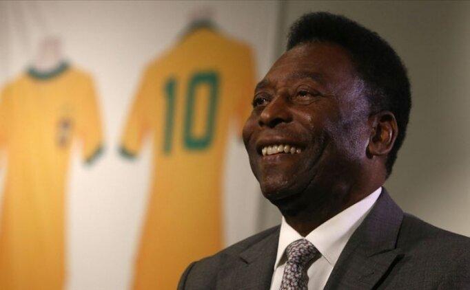 Efsane futbolcu Pele'nin sağlığı iyiye gidiyor