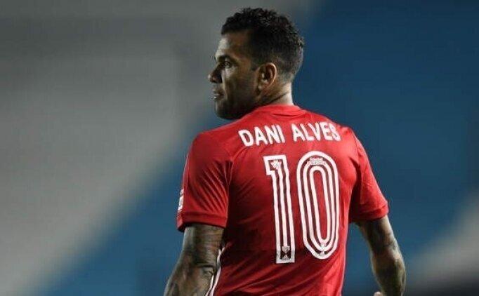 Dani Alves'in ayrılığı açıklandı