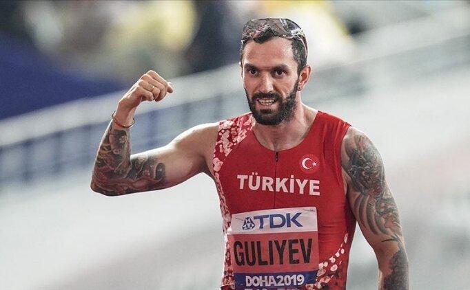 Milli atlet Ramil Guliyev, Kenya'da dördüncü oldu