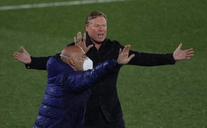 Koeman: 'Tüm dünya gördü, penaltımız verilmedi'