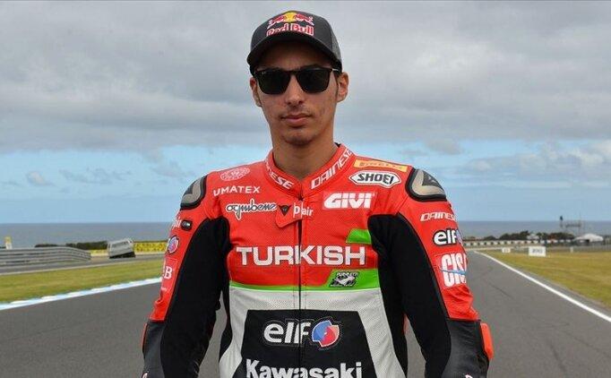 Milli motosikletçi Toprak Razgatlıoğlu Hollanda'da üçüncü oldu