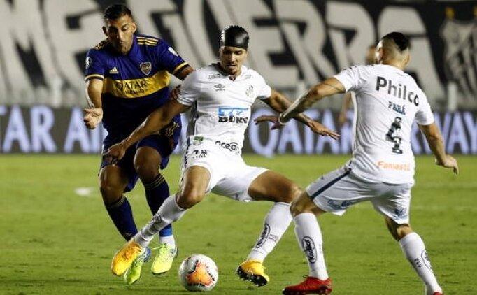 Santos Boca Juniors'u eleyerek finale yükseldi