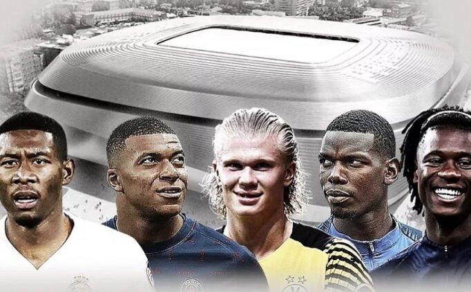 Real Madrid'in piyasası sarsacak 5 yıldızlı planı