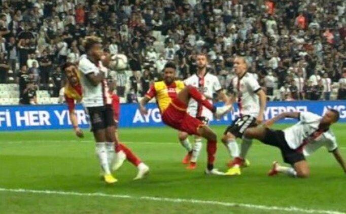 Beşiktaş - Yeni Malatyaspor maçında penaltı tartışması
