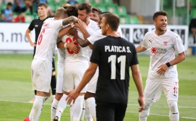 Sivasspor, Moldova'dan galibiyetle dönüyor!