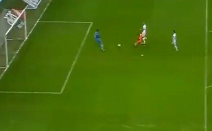 Galatasaray'ın kazandığı penaltı iptal edildi