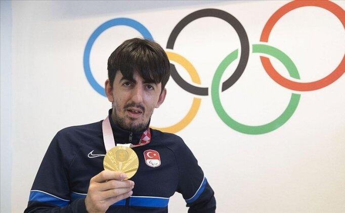 Tokyo Paralimpik Oyunları şampiyonu Öztürk: 'Adımı tarihe yazdırmak istiyorum'