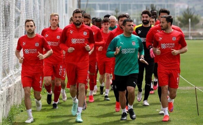 Sivasspor'da iki isim Gaziantep maçında yok