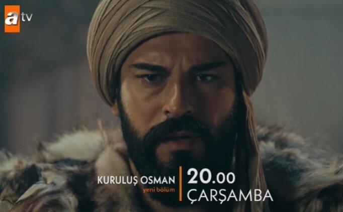 Son bölüm Kuruluş Osman ATV 48. bölüm izle Çarşamba