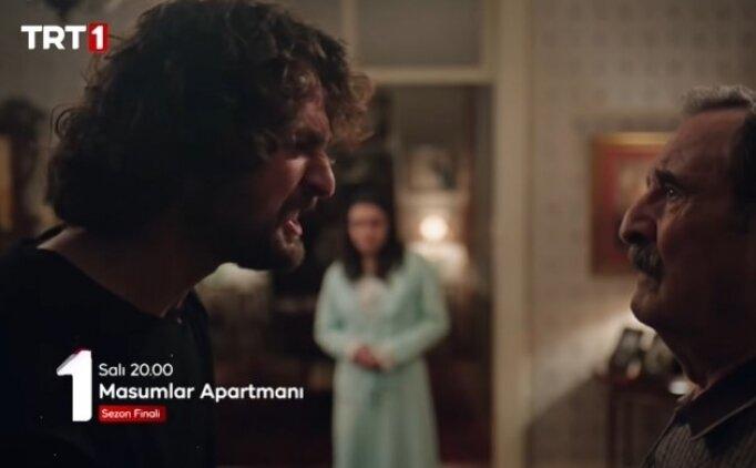 (SON DAKİKA) Masumlar Apartmanı TRT 1 HD full izle Salı yeni bölüm sezon finali