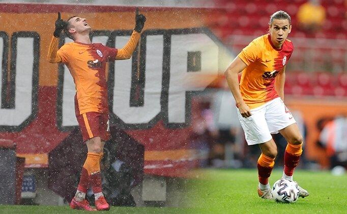 Galatasaray'da Taylan ve Kerem kıymete bindi
