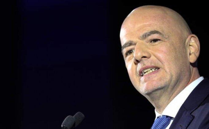 Infantino: 'Maaş ve transfer sınırı getirilmeli'